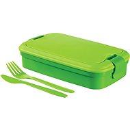 CURVER Desiatový box LUNCH & GO box, zelený - Desiatový box