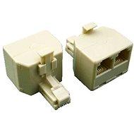 Datacom UTP CAT3 3× RJ11 (6p4c-1M/2F)