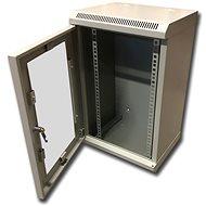 "Datacom 10"" 12U/280 mm (sklo) sivý"