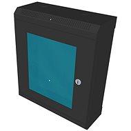 """Datacom 10"""" 9U/140 mm (sklo) čierny"""