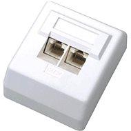 Datacom Dátová zásuvka UTP CAT5E na omietku 2000 - Zásuvka