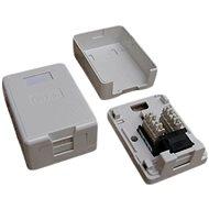 Datacom Dátová zásuvka UTP CAT5E na omietku 2333 - Zásuvka