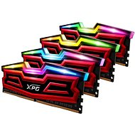 ADATA 32 GB KIT DDR3 3200 MHz CL16 XPG SPECTRIX D40, červená
