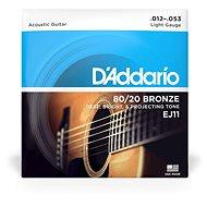 Daddario EJ11 Bronze Light 12-53 - Struny