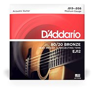 Daddario EJ12 Bronze Light 13 – 56 - Struny