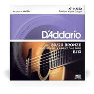 Daddario EJ13 Bronze Custom Light 11 - 52 - Struny