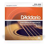 Daddario EJ42 Phosphor Bronze Resofonic Extra Light - .016 - .052 - Struny