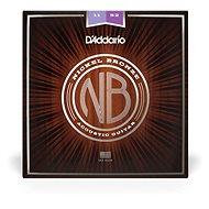 Daddario NB1152 Nickel Bronze Acoustic Custom Light