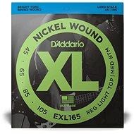 Daddario EXL165 Regular Light Top/Medium Bottom - .045 -.105 - Struny