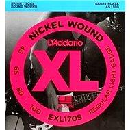 Daddario EXL170SL Short Scale - Struny