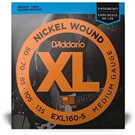 Daddario EXL160-5 Medium - .050 - .135 - Struny