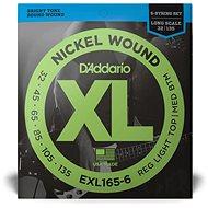 Daddario EXL165-6 Regular Light Top/Medium Bottom - .032 - .135 - Struny