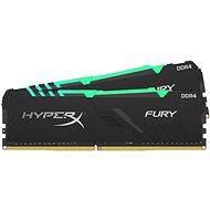 HyperX 32GB KIT DDR4 2666 MHz CL16  RGB FURY series - Operačná pamäť