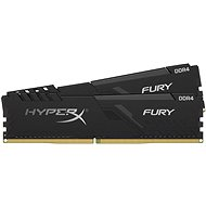HyperX 32 GB KIT DDR4 3200 MHz CL16 FURY Black - Operačná pamäť