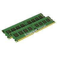 Kingston 8 GB KIT DDR3 1333 MHz CL9 Single Rank - Operačná pamäť