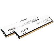 HyperX 8GB KIT DDR3 1600MHz CL10 Fury White Series - Operačná pamäť