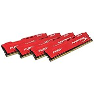 HyperX 64 GB KIT DDR4 2933 MHz CL17 Fury Red Series - Operačná pamäť