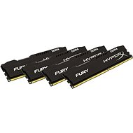 HyperX 64 GB KIT DDR4 2933 MHz CL17 Fury Black Series - Operačná pamäť