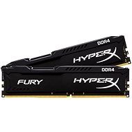 HyperX 16 GB KIT DDR4 2400 MHz CL15 Fury Black Series - Operačná pamäť