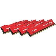 Kingston 32 GB KIT DDR4 2666 MHz CL16 HyperX Fury Red Series - Operačná pamäť