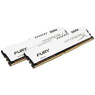 Operační paměť Kingston 32GB KIT DDR4 2666MHz CL16 HyperX Fury White Series - Operačná pamäť