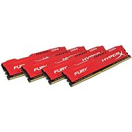 HyperX 64GB KIT DDR4 2666MHz CL16 Fury Red Series - Operačná pamäť