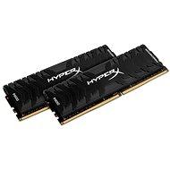 HyperX 8GB KIT DDR4 3000MHz CL15 Predator Series - Operačná pamäť