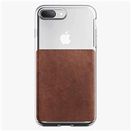 Nomad Clear Case Rustic Brown iPhone 8 Plus/7 Plus