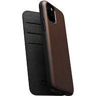 Nomad Folio Leather Case Brown iPhone 11 Pro - Kryt na mobil