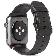 Decoded Leather Strap Black Apple Watch 44/42 mm - Remienok