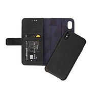 Decoded Leather 2 in 1 Wallet Case Black iPhone X - Puzdro na mobil