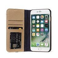 Decoded Leather Wallet Case 2 Sahara iPhone 8 Plus/7 Plus/6s Plus - Puzdro na mobil