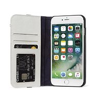 Decoded Leather Wallet Case 2 Grey iPhone 8 Plus/7 Plus/6s Plus - Puzdro na mobil