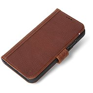 Decoded Leather Card Wallet Brown iPhone XR - Puzdro na mobil