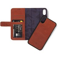 Decoded Leather 2 in 1 Wallet Brown iPhone XR - Puzdro na mobil