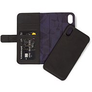 Decoded Leather 2in1 Wallet Black iPhone XR - Puzdro na mobil