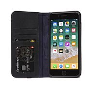 Decoded Leather Wallet Case Black iPhone 8 Plus/7 Plus/6s Plus - Puzdro na mobil