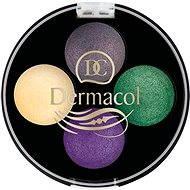 DERMACOL Quattro Baked Eye Shadows No. 8 4× 0,5 g - Očné tiene