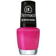 DERMACOL Neon Nail Polish Malibu č. 20 - Lak na nechty