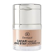 DERMACOL Caviar long stay make up and corrector - pale 30 ml - Make up