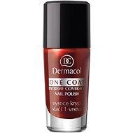 DERMACOL One Coat - Extrémny poťah na nechty 119 10 ml - Lak na nechty