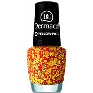 DERMACOL nechty s efektom - žltý pixel 5 ml - Lak na nechty