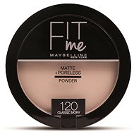 MAYBELLINE NEW YORK Fit Me Matte+Poreless 120 Classic Ivory 14 g - Púder