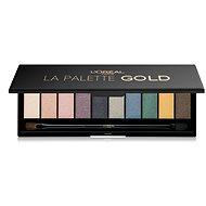 ĽORÉAL PARIS La Palette Glitz Gold 7 g - Paletka očných tieňov