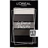ĽORÉAL PARIS La Petite Palette Fetishist 5× 0,8 g - Paletka očných tieňov