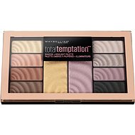 MAYBELLINE New York Total Temptation Shadow & Highlight Palette 12 g - Paletka očných tieňov