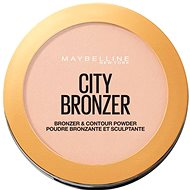 MAYBELLINE NEW YORK City bronzer a kontúrovací púder 150 Light Warm 8 g - Bronzer