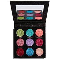 REVOLUTION Pressed Glitter Palette Abracadabra, trblietky - Paletka očných tieňov