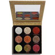 REVOLUTION Pressed Glitter Palette Midas Touch, trblietky - Paletka očných tieňov