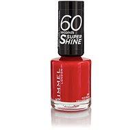 RIMMEL LONDON 60 Seconds Shine Nail Polish 310 Double Decker Red 8ml - Nail Polish
